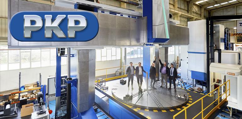 PKP-Machining - metalliteollisuus - moderni konekanta